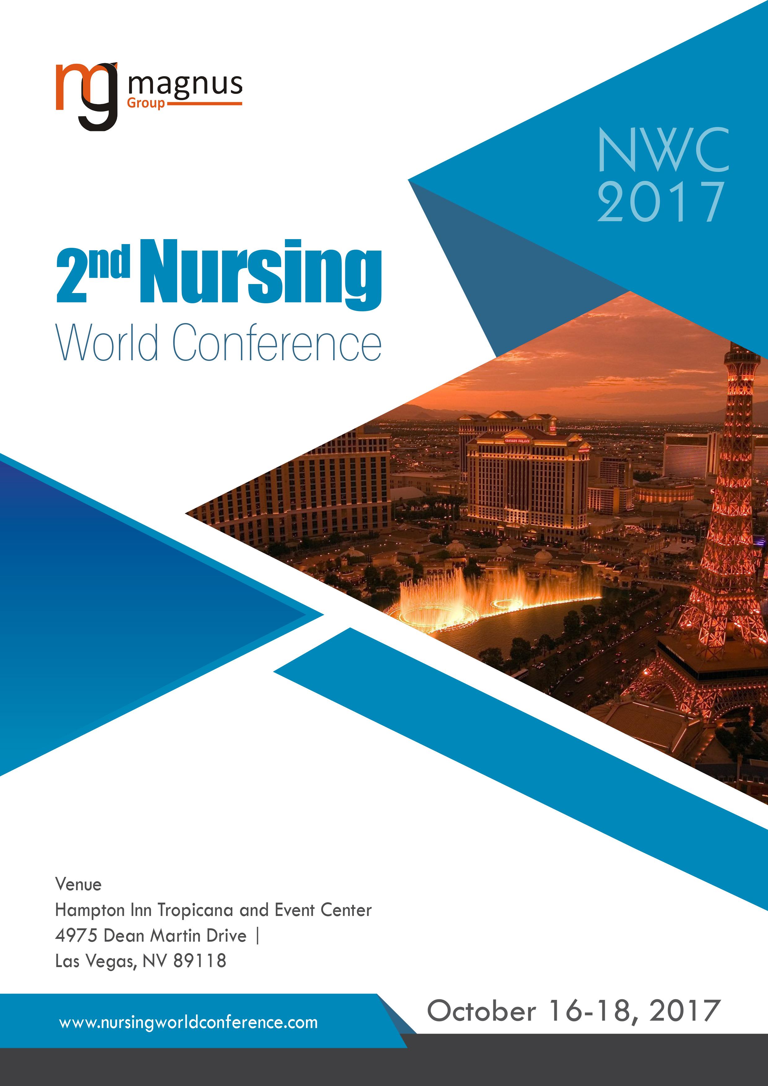 2nd Nursing World Conference   Las Vegas, USA Book