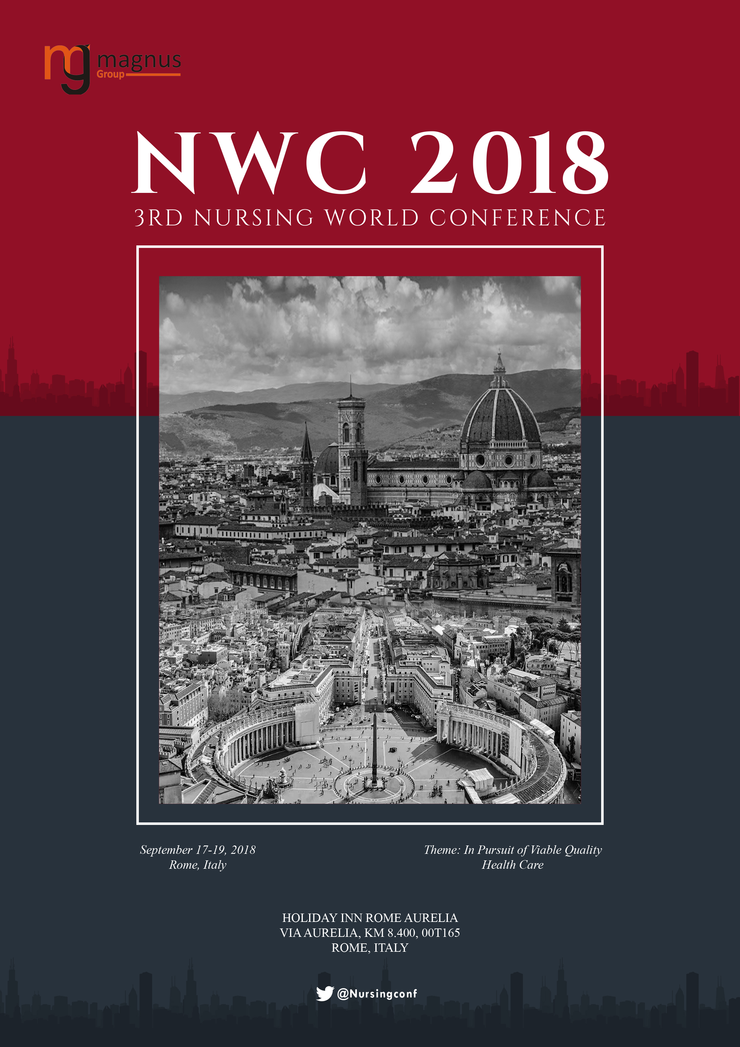 3rd Nursing World Conference   Rome, Italy Book