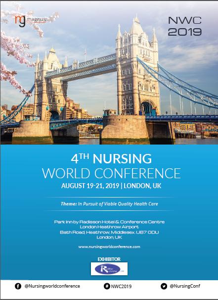 4th Nursing World Conference   London, UK Program
